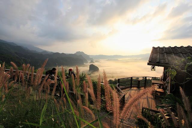 """Set kèo """"săn mây"""" tại Magic Mountain café, Thái Lan"""