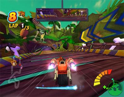 Crash Tag Team Racing (PS2) 2005