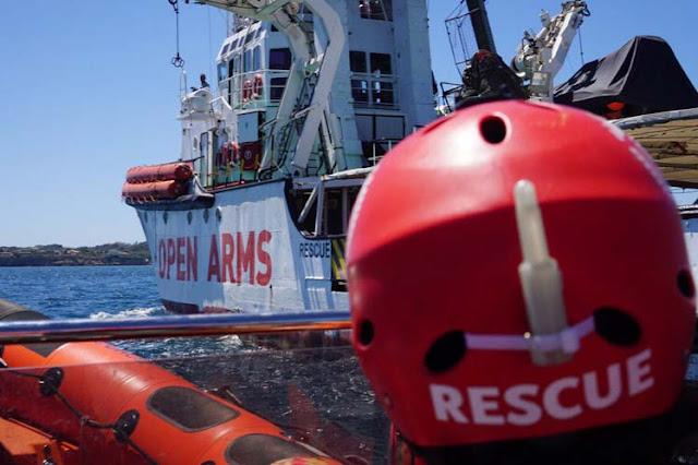 Valencia se ofrece como puerto seguro para acoger el barco de Open Arms con 122 personas a la deriva