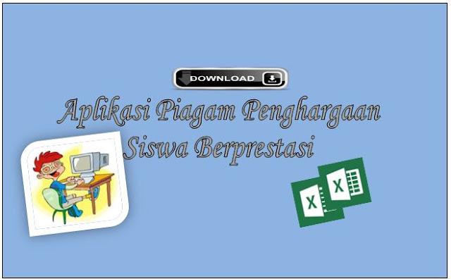 Aplikasi Cetak Piagam penghargaan Siswa Berprestasi