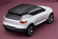 Volvo Concept 40.1 (2016) Rear Side