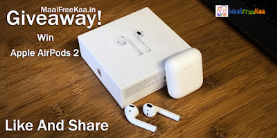 Apple AirPods 2 Free