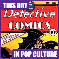 Batman featured for the first time in comic book.