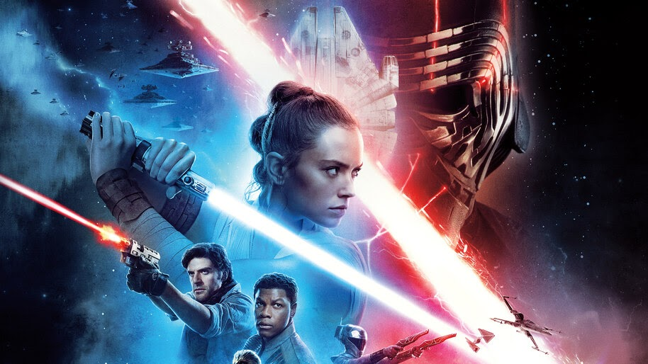 Rey Wall Poster Star Wars The Rise Of Skywalker
