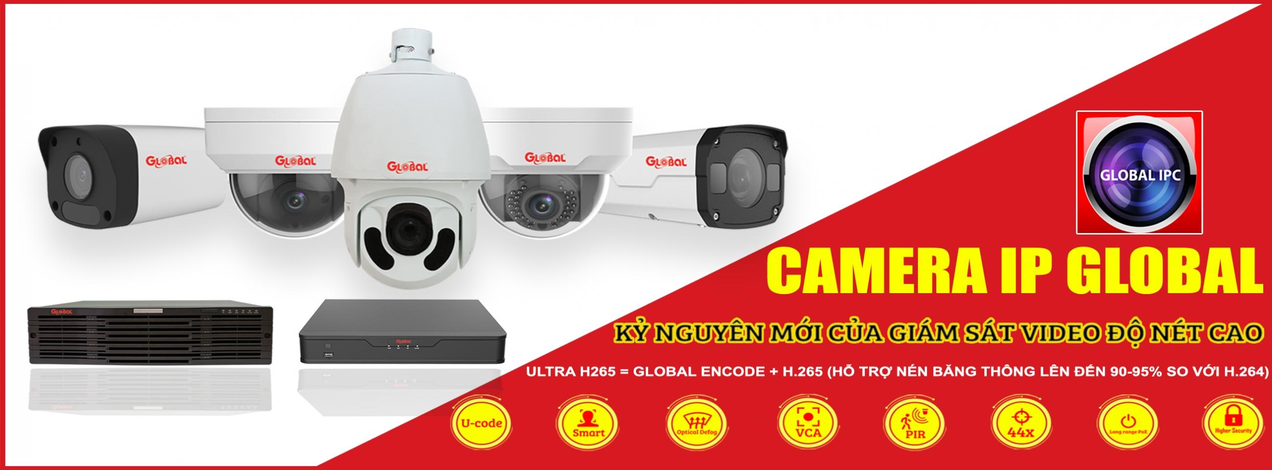 Các sản phẩm Camera Global tại Bến Tre