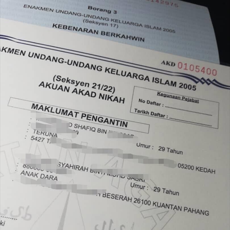 Borang Ujian Saringan Hiv Pra Perkahwinan Negeri Kedah