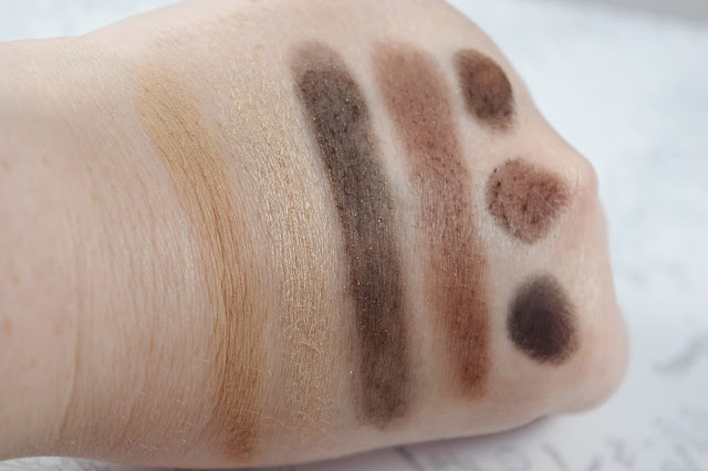 Bobbi Brown Wine Palette Swatches