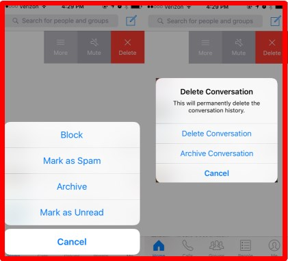 how to recover deleted facebook messages on iphone