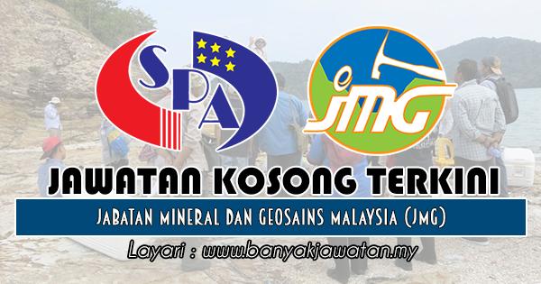 Jawatan Kosong 2018 di Jabatan Mineral dan Geosains Malaysia (JMG)