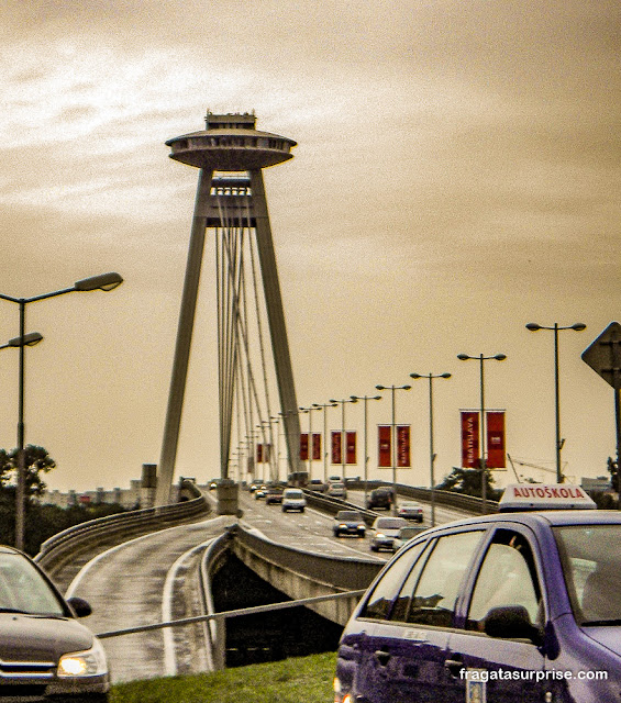 Ponte UFO, Bratislava, Eslováquia