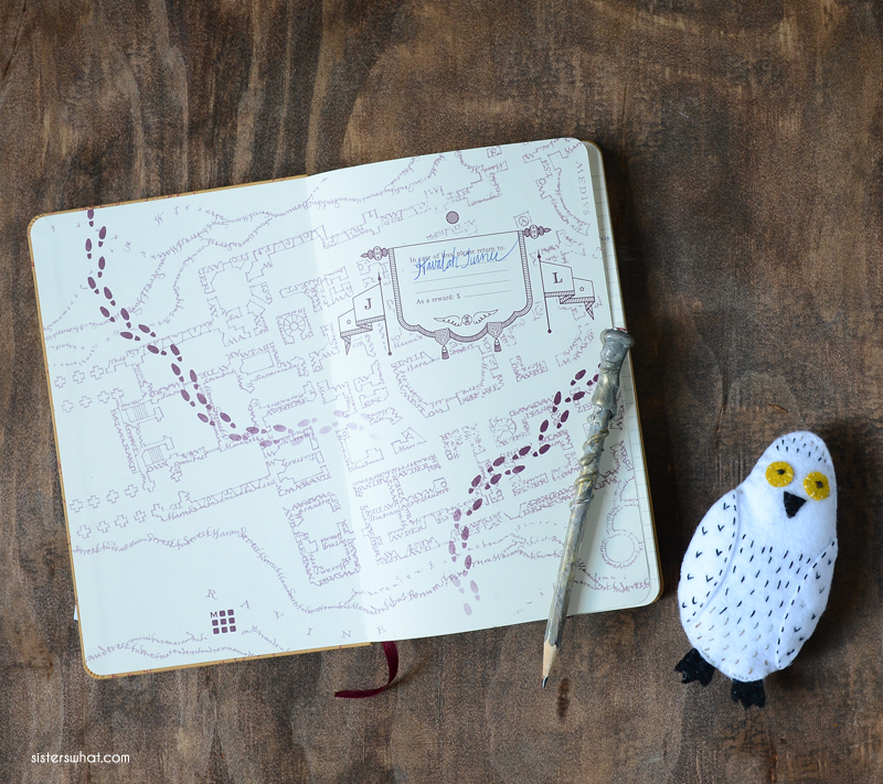 marauders map journal