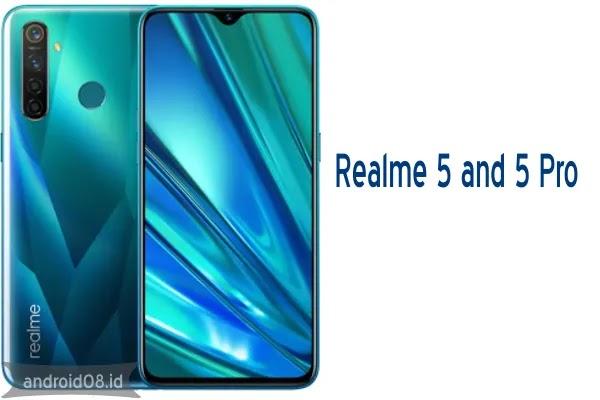 Baru Rilis, Ini Spesifikasi Dasar Realme 5 dan Realme 5 Pro
