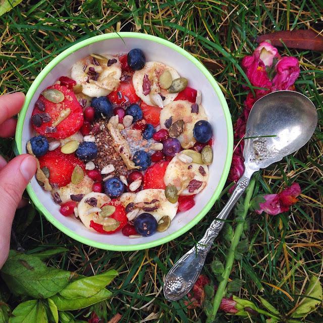 Superfood Chia Seed Pudding Porridge (Gluten Free, Vegan, Oat Free)