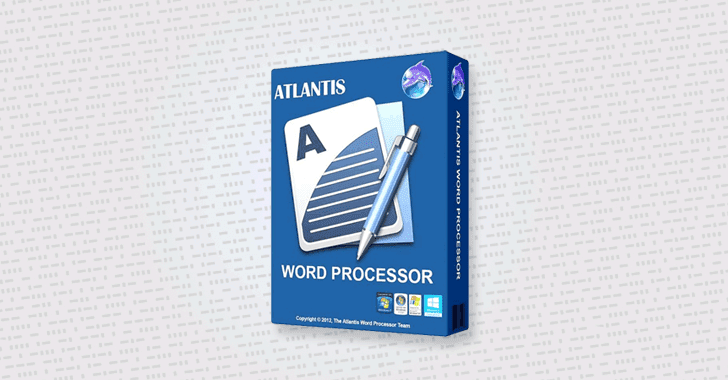 3 New Code Execution Flaws Discovered in Atlantis Word Processor