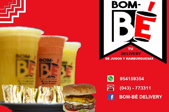 BOM BÉ DELIVERY – Tu delivery de jugos y hamburguesas en Chimbote