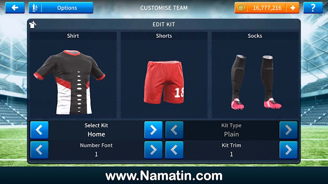 Seragam Dream League Soccer Futsal Vamos