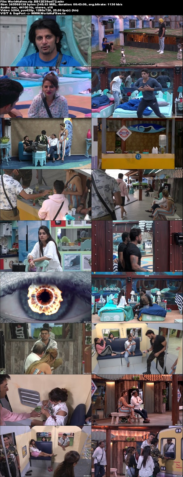 Bigg Boss 12 Episode 39 25 October 2018 720p WEBRip 350Mb x264 world4ufree.fun tv show Episode 39 25 October 2018 world4ufree.fun 300mb 250mb 300mb compressed small size free download or watch online at world4ufree.fun