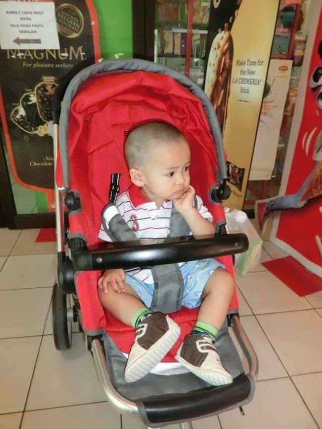 Review Beli Online Stroller Merah Sweet Cherry 6