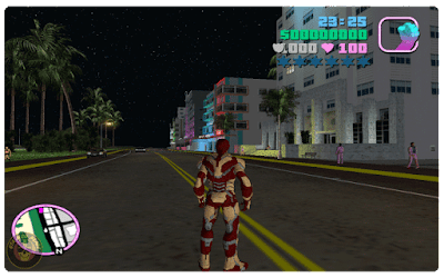 Gta Vice City Ironman Skin Mod Free Download