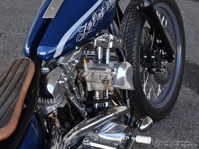 Harley Davidson By Far East Wheels Hell Kustom