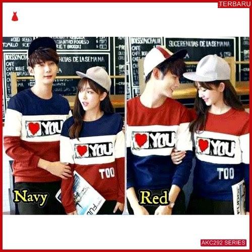 AKC292S105 Sweater Couple Love Anak 292S105 Pasangan You BMGShop