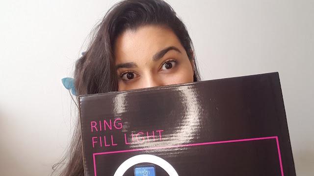 RING LIGHT | Minha primeira compra no MERCADO LIVRE! (unboxing + review)