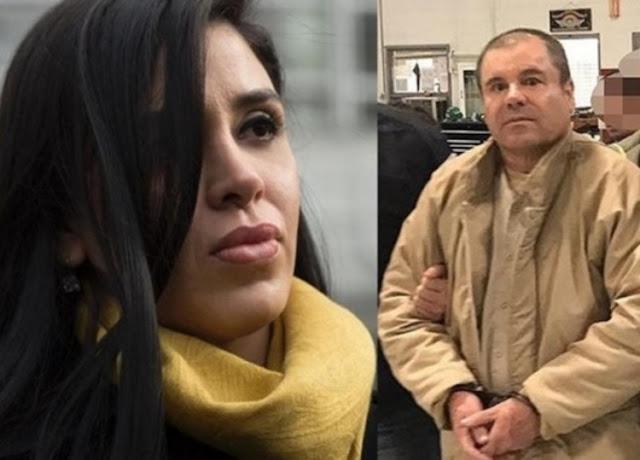 """El reencuentro entre """"El Chapo"""" Guzmán y Emma Coronel en EU"""
