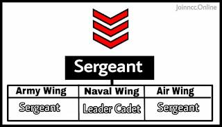 Sergeant Rank
