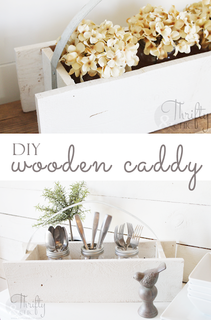 http://www.thriftyandchic.com/2015/07/diy-wooden-caddy-with-galvanized-metal.html