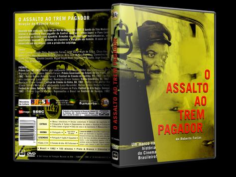 Capa DVD O Assalto ao Trem Pagador