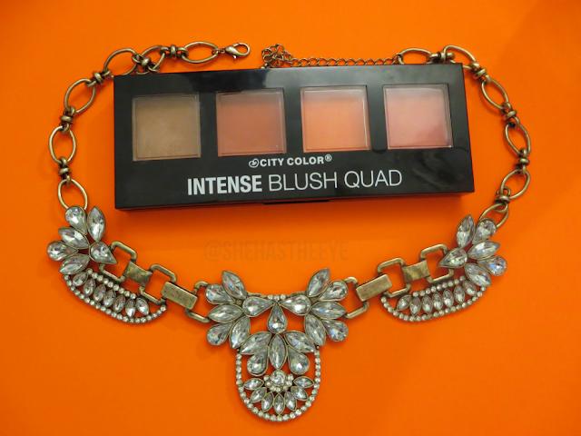 City Color | Cosmetics | Blush | Makeup Reviews | WOC Makeup Blog | Beauty Bloggers