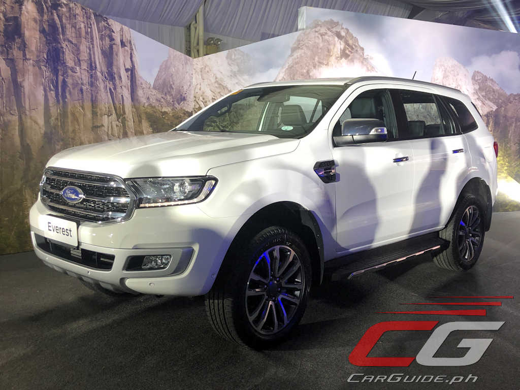 The 2020 Ford Everest Is Finally In The Philippines W Specs Carguide Ph Philippine Car News Car Reviews Car Prices
