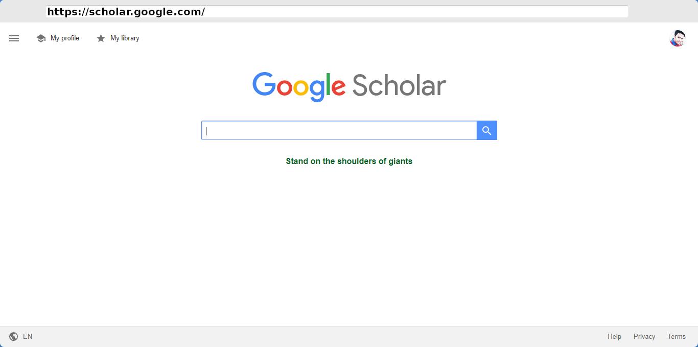 Google Scholar - Home Page