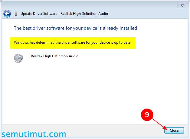 cara mengatasi laptop tidak ada suaranya windows 8