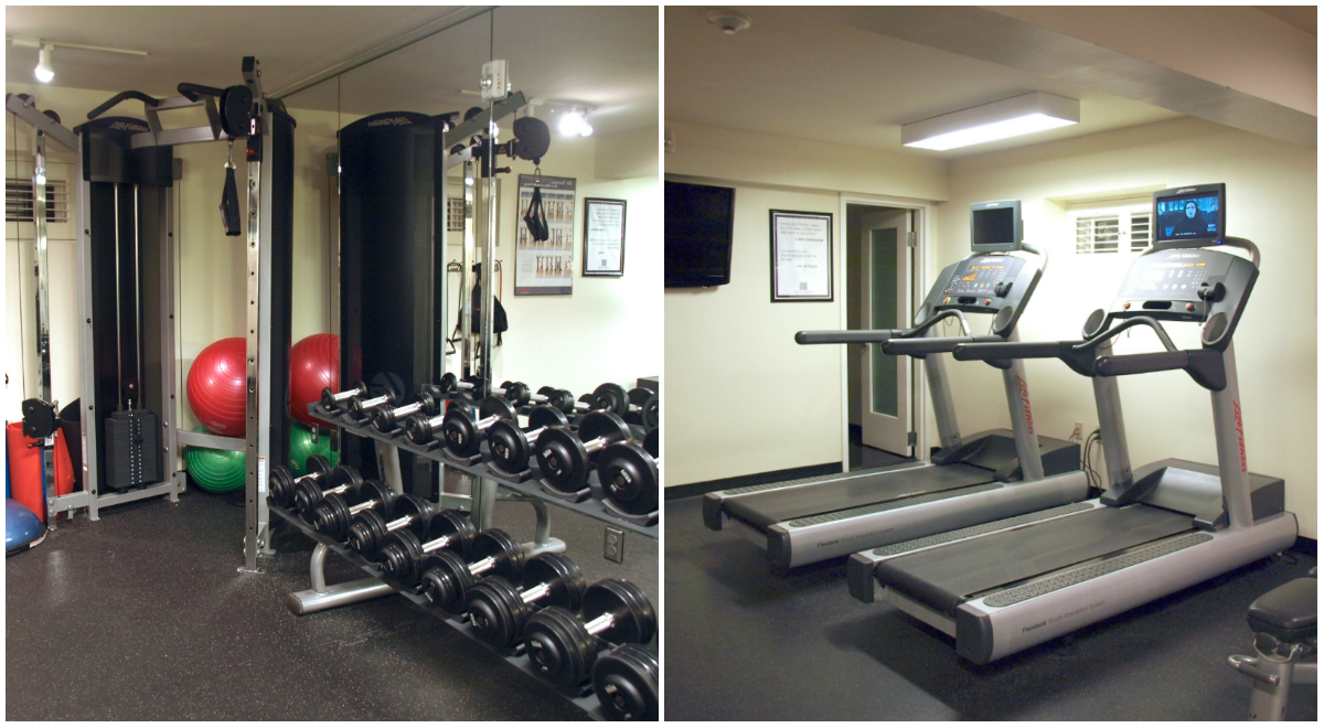 Hotel Le Marais New Orleans Review | Gym