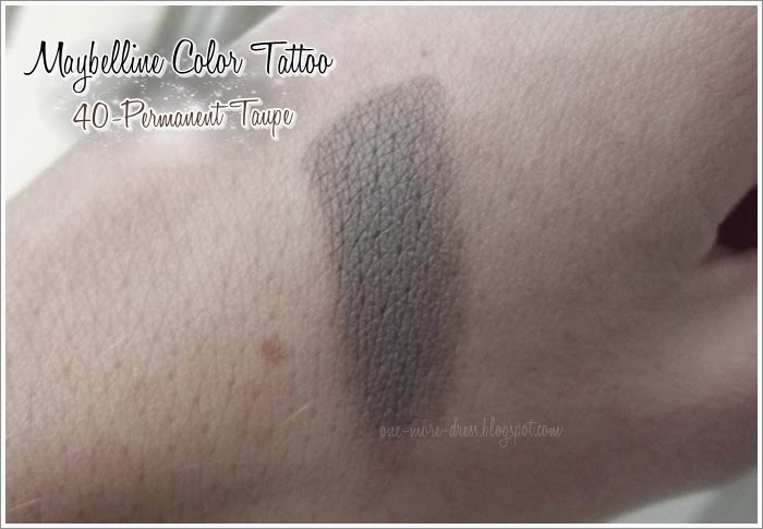 Maybelline Color Tattoo 40 Permanent Taupe Ideał Do Brwi