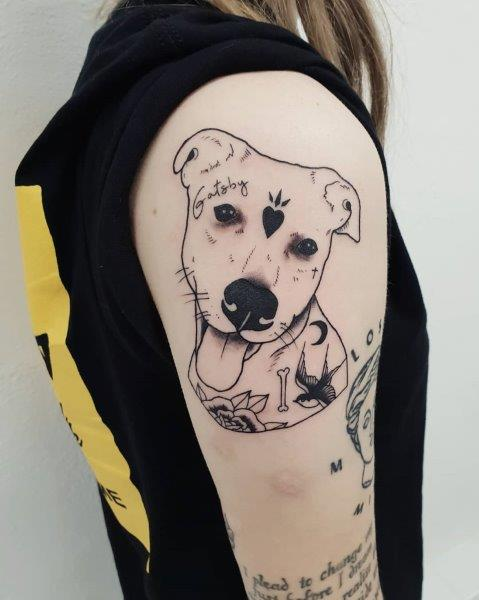 Dalmatian Dog Tattoo