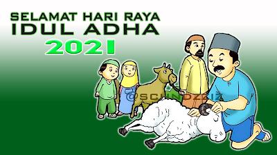 Gambar Ucapan Selamat Hari Lebaran Idul Adha 2021