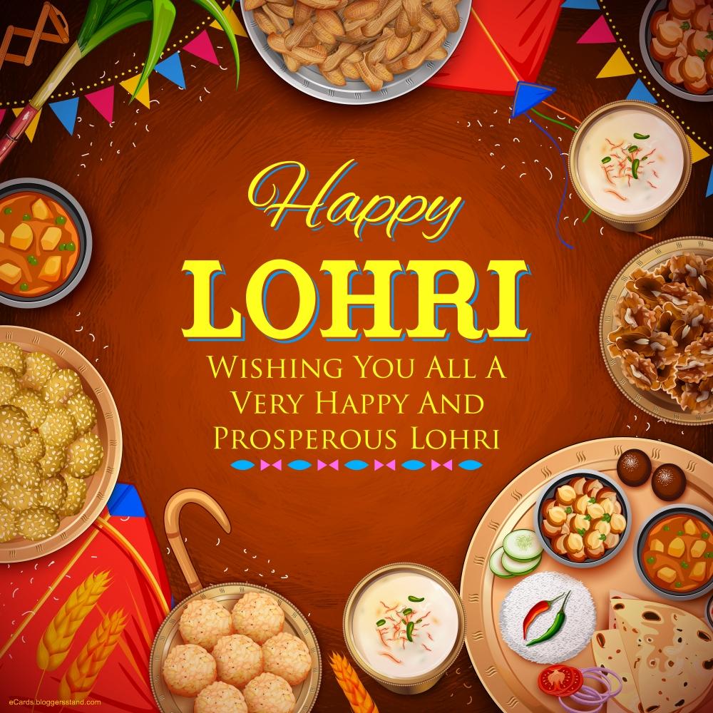 Best Happy lohri 2021 images in hindi