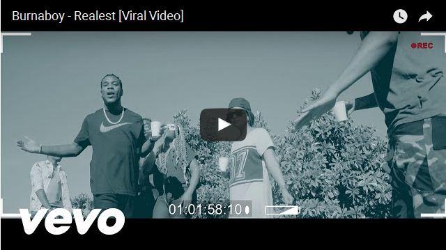 VIDEO: Burna Boy - Realest   Download