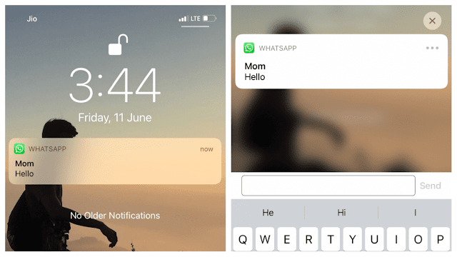 Reply WhatsApp message without showing online on iPhone