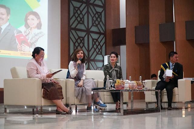 Najwa Shihab Siap Bantu Tingkatkan Minat Baca di Muba