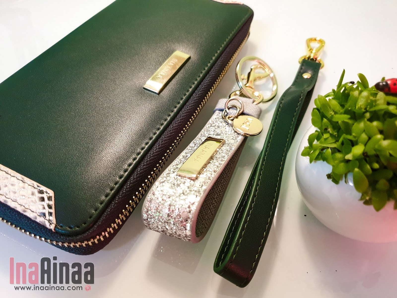 JOVI LEATHER PURSE - Hak Milik Ina Ainaa