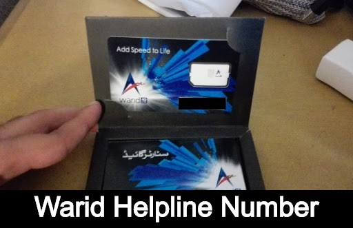 Warid helpline Number code - Contact with Warid Through Number Whatsapp and Email