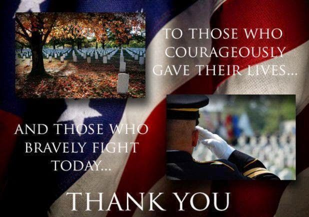 veterans day thank you quote