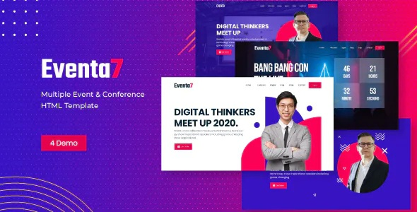 Best Event Conference HTML Template
