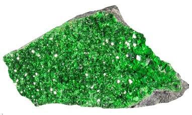 Uvarovita mineral rico en cromo | foro de minerales