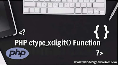 PHP ctype_xdigit() Function
