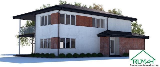 Model Desain Gambar Rumah Minimalis Idaman Modern Tipe 178