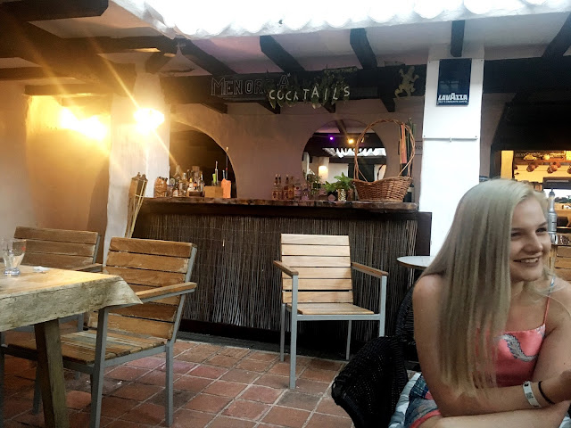 cocktail bar in menorca